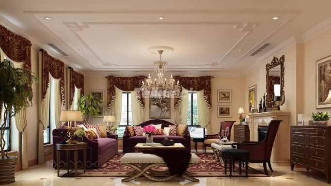 简单到繁杂、整体到局部,精雕细琢,缔造一个温馨的住所