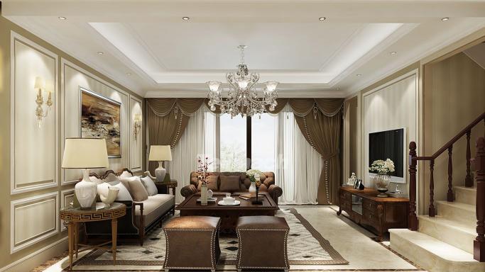 现代简洁手法表现低调奢华空间