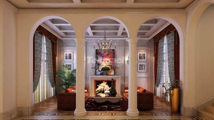 美式古典、营造出一种怀旧、浪漫的感觉。