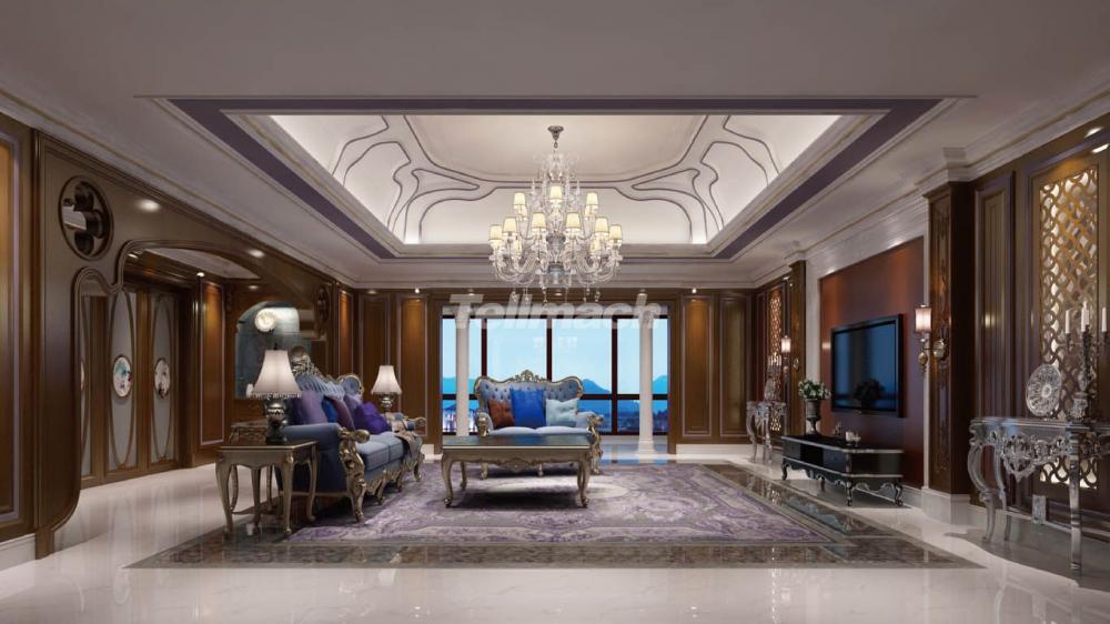 自在香山  以优美为主 完美彰显现代欧式设计