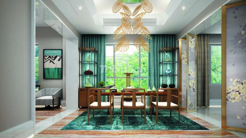 古典融合更多现代元素 装饰上运用上时尚与质感
