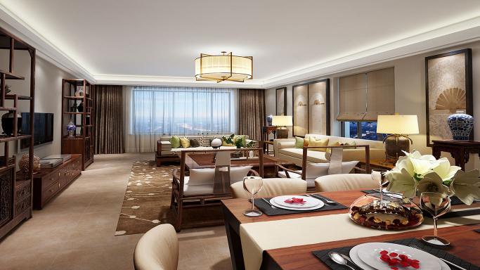 新中式,借设计打造一个有温度的家